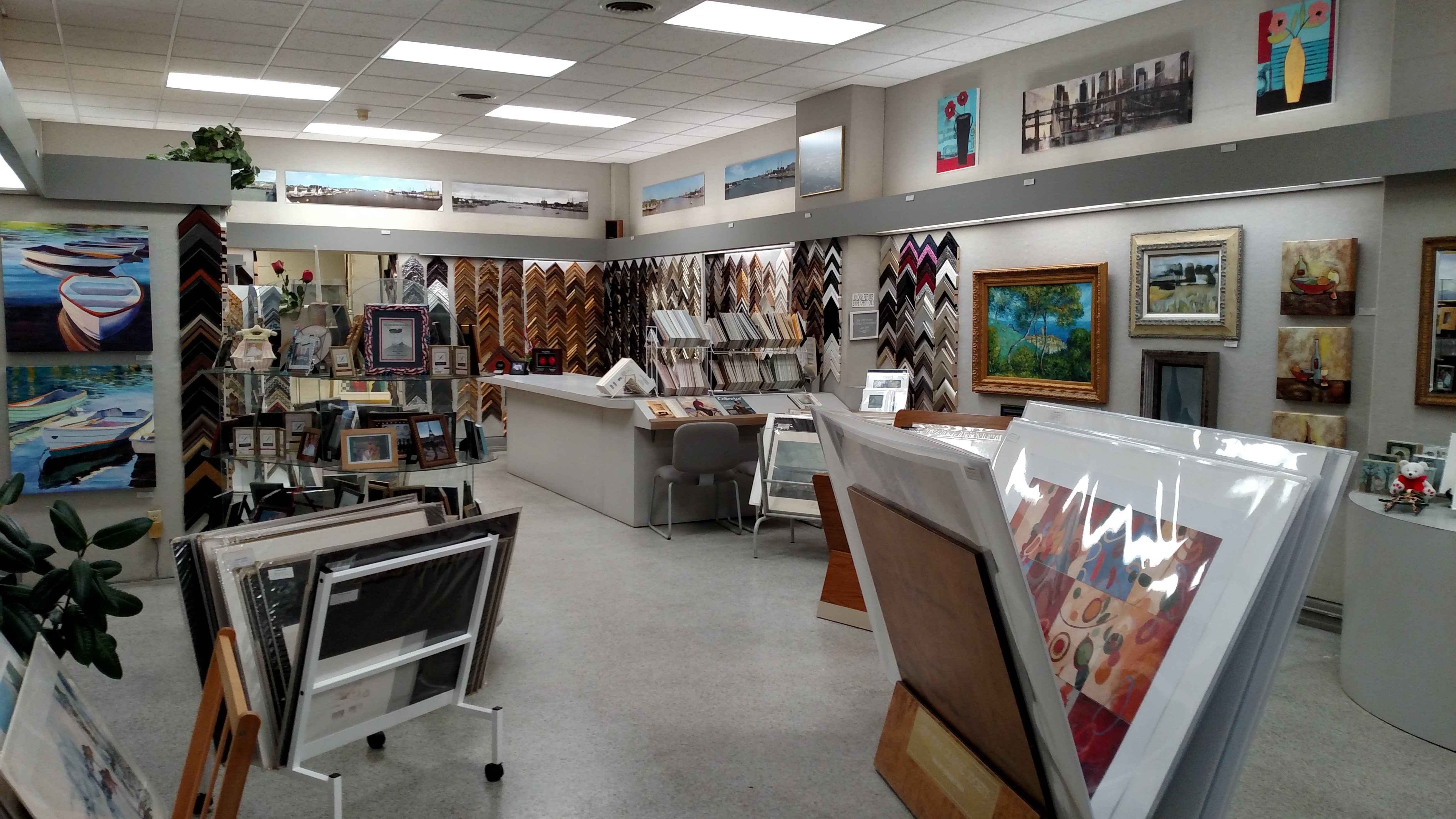 photo gallery - Downtown Framing Outlet